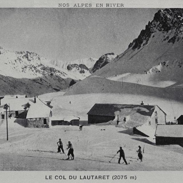 Le col du Lautaret - Collection Lucien Tron