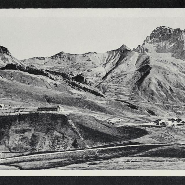 Le col du Lautaret et les lacets du Galibier  - Collection Eric Vannard