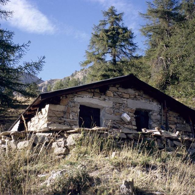 Cabane pastorale de Pied Brun © Manuel Meester - Parc national des Ecrins
