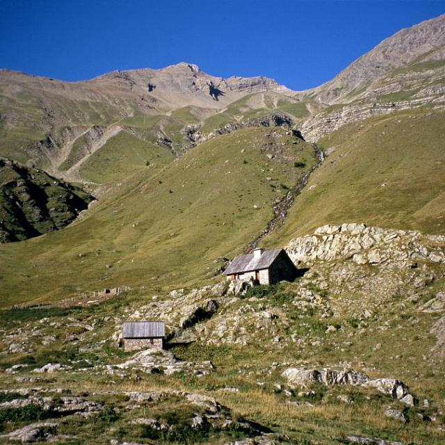 La cabane du saut du Laire © Parc national des Ecrins