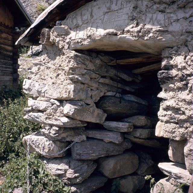 L'ancienne cabane de Palluel © Manuel Meester - Parc national des Ecrins