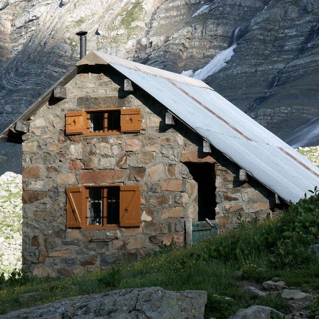 La grande cabane - vallon du Fournel - L'Argentière la bessée © Cyril Coursier - Parc national des Ecrins