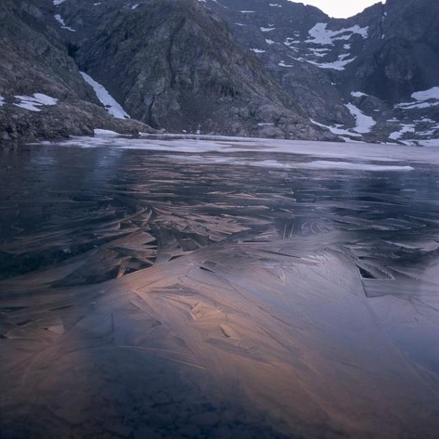 Lacs de Crupillouse © Claude Dautrey - Parc national des Ecrins