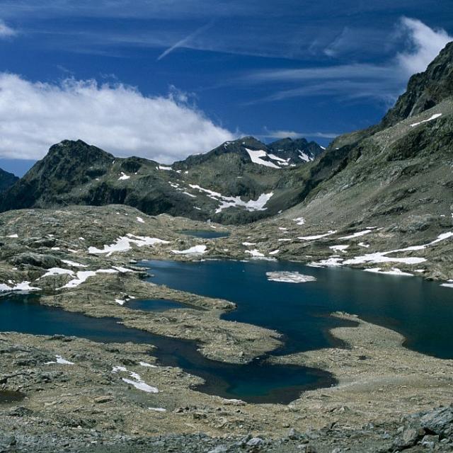 Les lacs de Crupillouse © Jean-Pierre Nicollet - Parc national des Ecrins