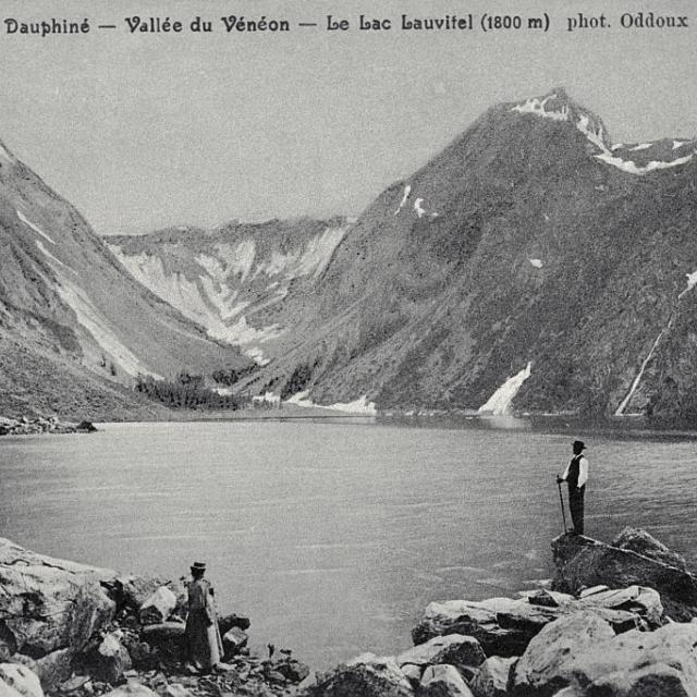 Vallée du Vénéon - Le lac Lauvitel (1800 m) - Collection Lucien Tron