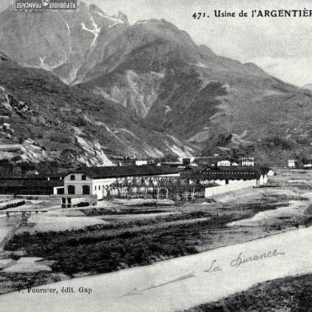Usine de l'Argentière - Lucien Tron (collection) - Parc national des Ecrins