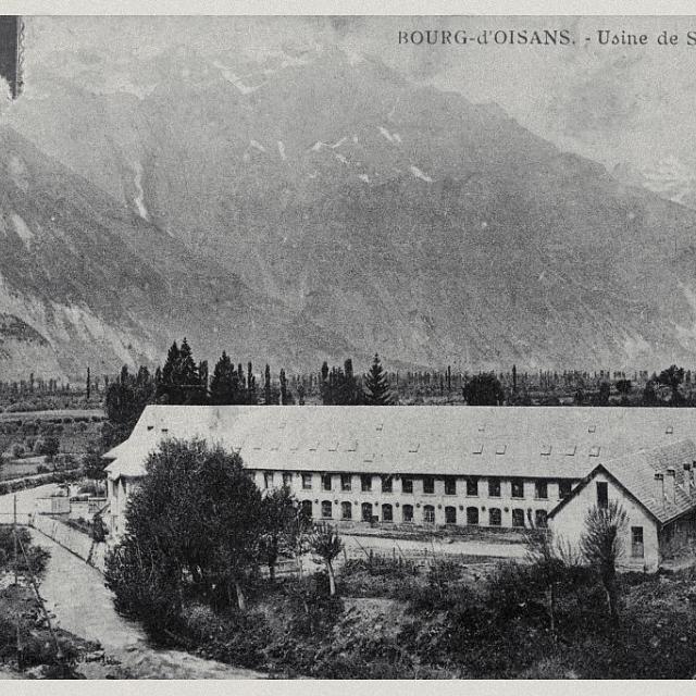 Bourg d'Oisans - Usine de Sarène et Cornillon - Parc national des Ecrins (collection)