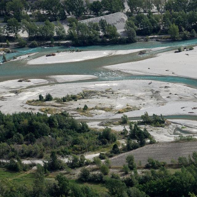 La Durance - Réotier © Mireille Coulon - Parc National des Ecrins