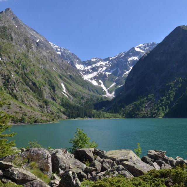 Visite de la Réserve Intégrale du Lauvitel par l'UICN © Denis Fiat - Parc National des Ecrins