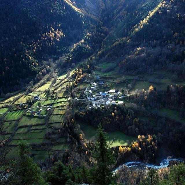 Le Villard d'Entraigues © Bernard Nicollet - Parc national des Ecrins