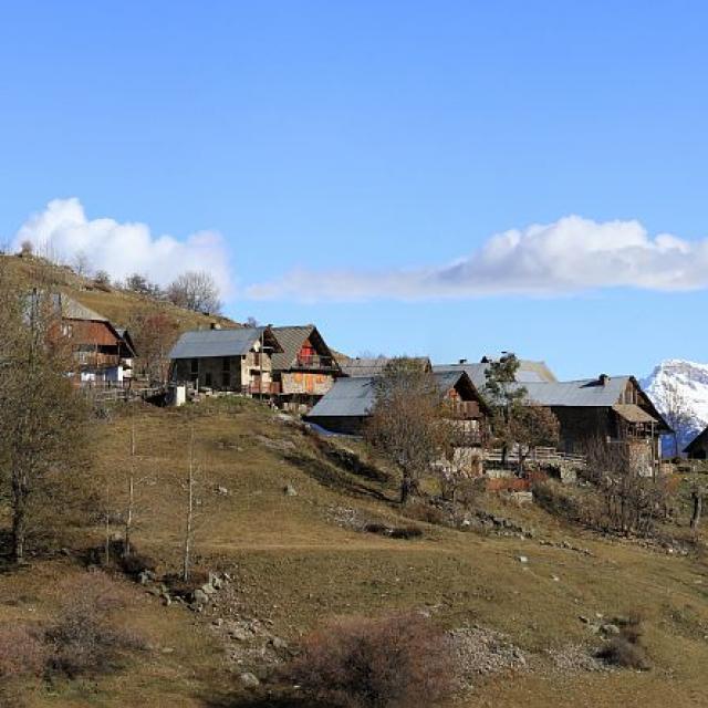 Village de Dormillouse © Jean-Philippe Telmon - Parc national des Ecrins