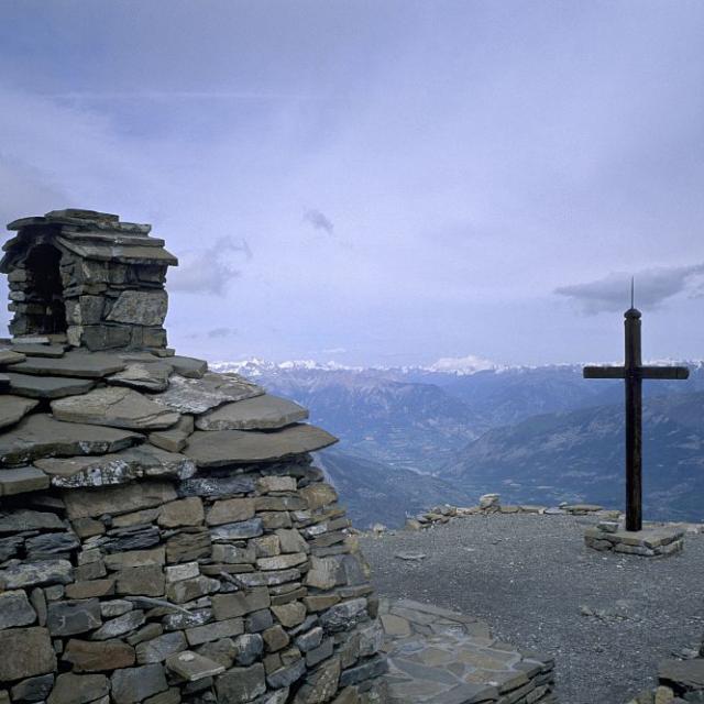 Chapelle Mont guillaume - © F-Labande - Parc national des Écrins