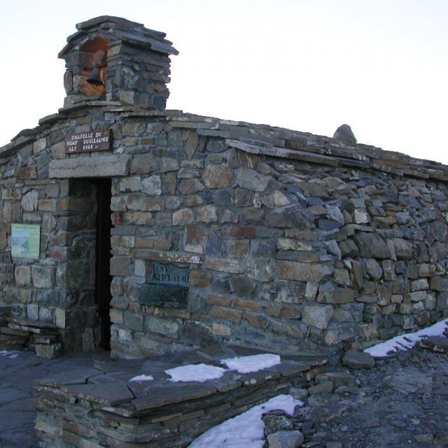 Chapelle Mont guillaume - © C-Couloumy - Parc national des Écrins