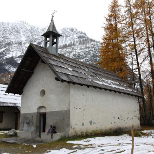 Chapelle Ailefroide - Parc national des Écrins