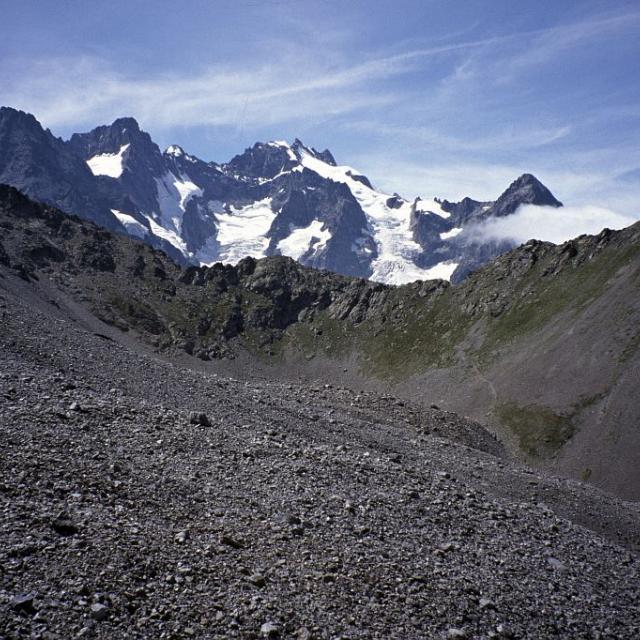 Glacier rocheux de Laurichard © Joël Faure - Parc national des Ecrins