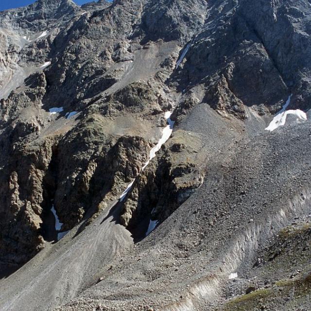 Glacier rocheux de Laurichard © Bernard Nicollet - Parc national des Ecrins