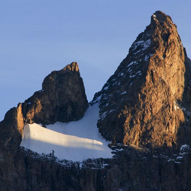Le glacier Carré dans la Meije © Denis Fiat - Parc national des Ecrins