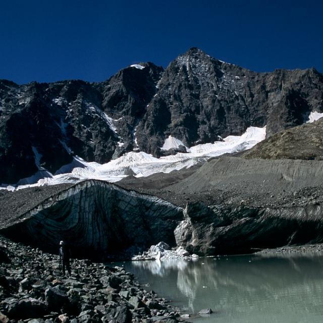 Glacier d'Arsine © Bernard Nicollet - Parc national des Ecrins