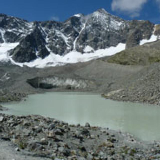 Site d'Arsine - 2011 © Hélène Quellier - Parc national des Ecrins