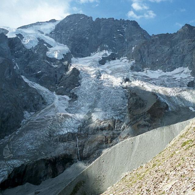 Glacier du Râteau, face Nord © Bernard Nicollet - Parc national des Ecrins