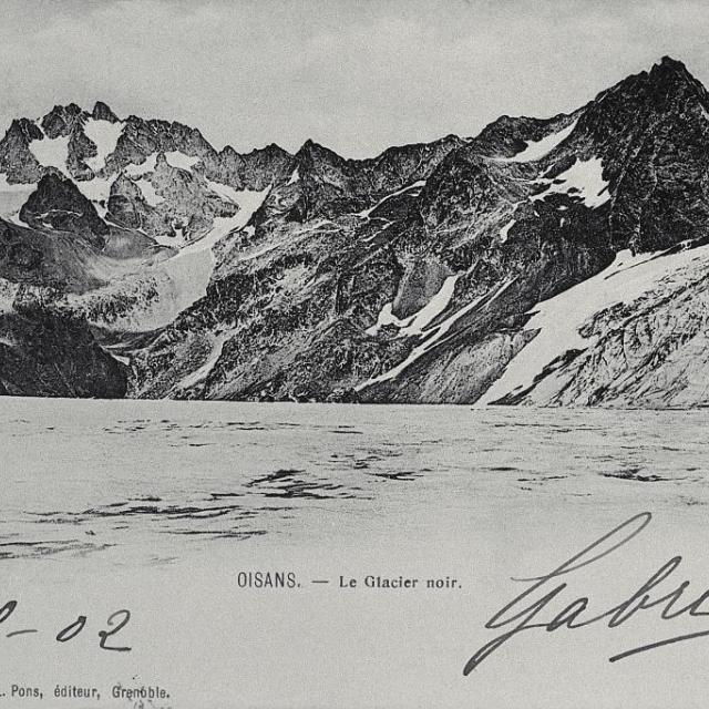 Le glacier Noir - Tron Lucien (collection)