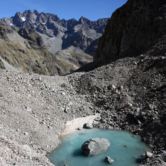 Glacier Noir © Martial Bouvier - Parc national des Ecrins
