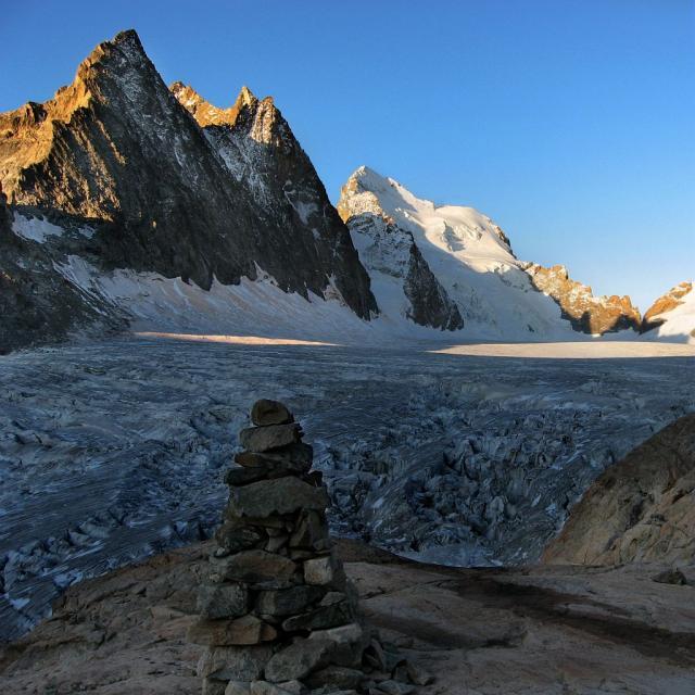 Glacier Blanc © Mireille Coulon - Parc national des Ecrins