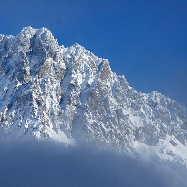 Les Souffles en hiver © Ludovic Imbertis, Parc national des Ecrins.
