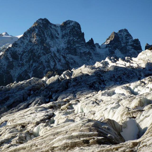 L'u ndes nombreux glaciers du parc