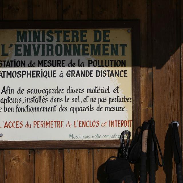 station MERA - © C.Coursier - Parc national des Écrins