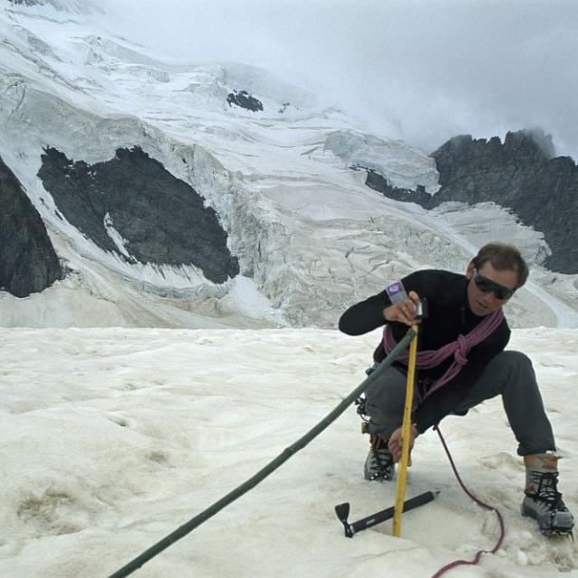 Le suivi des glaciers