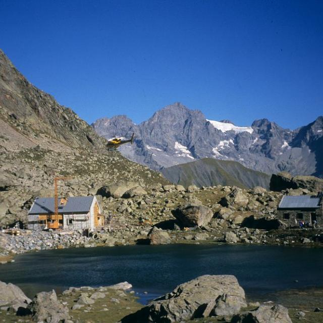 Refuges de Vallonpierre©Yves Baret - Parc national des Ecrins
