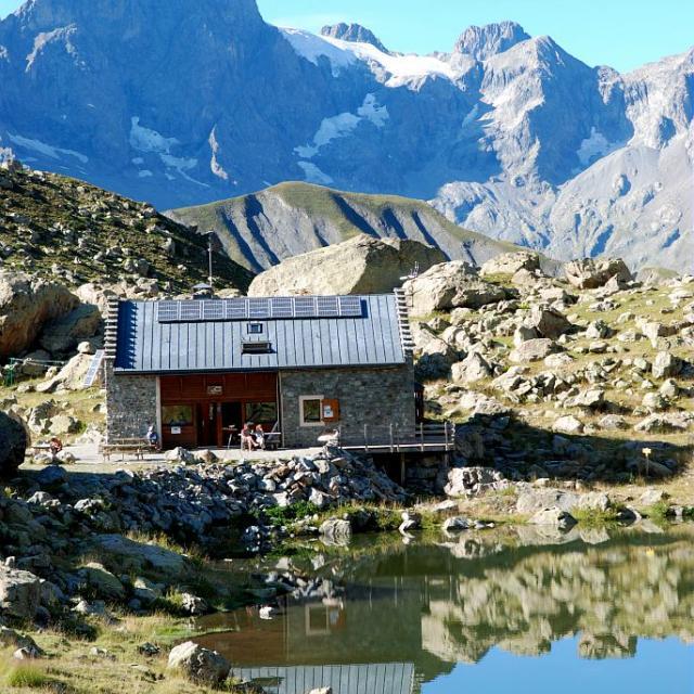 Refuge de Vallonpierre ©Yves Baret - Parc national des Ecrins