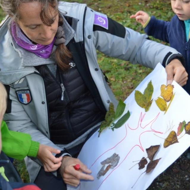 Jeunes découvreurs du Parc national des Ecrins - ecole de Pelvoux - oct 2015
