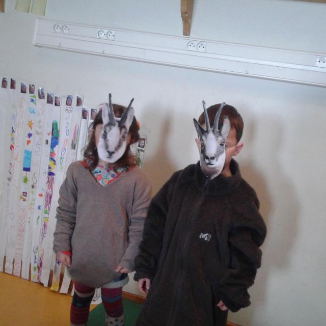 Ecole maternelle La Grave - Parc national des Ecrins - projet pédagogique sur le saisons - 2015-2016