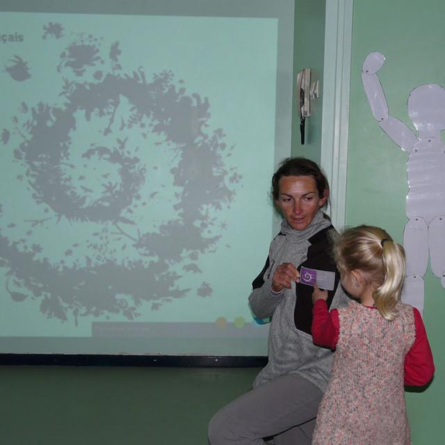 ecole monêtier les Bains - 2017 - projet pédagogique avec parc national des Ecrins