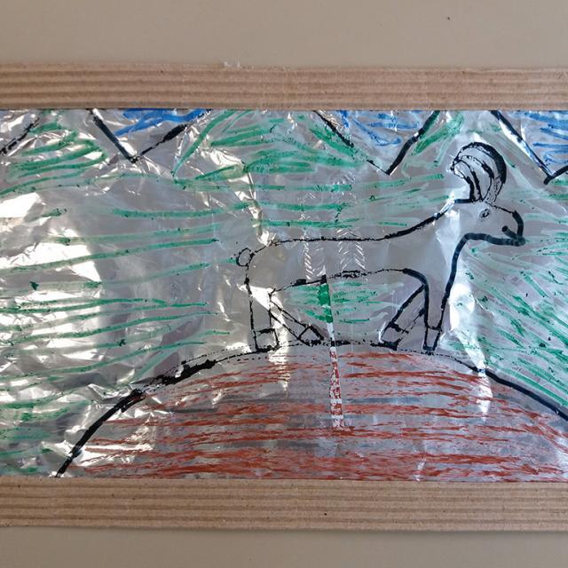 Tableaux bouquetins cp-ce1 Savines le Lac - ibex alcotra