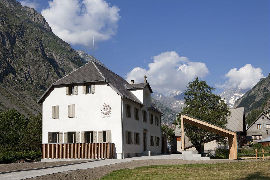 Maison du Parc - La Chapelle-en-Valgaudemar ©Saulay Pascal - Parc national des Ecrins